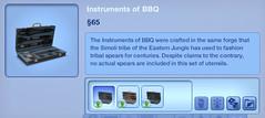 Instruments of BBQ
