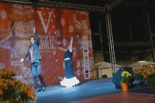 video 04 Flamenco Rehab V Feria Abril Las Palmas de Gran Canaria 2012