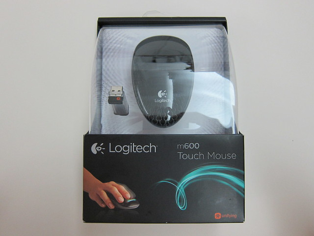 Logitech Touch Mouse M600 - Box Front