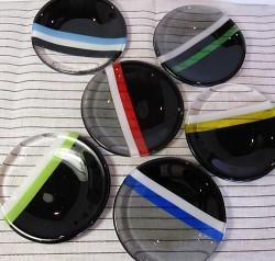 黒い丸皿・・インテリアノート by Poran111