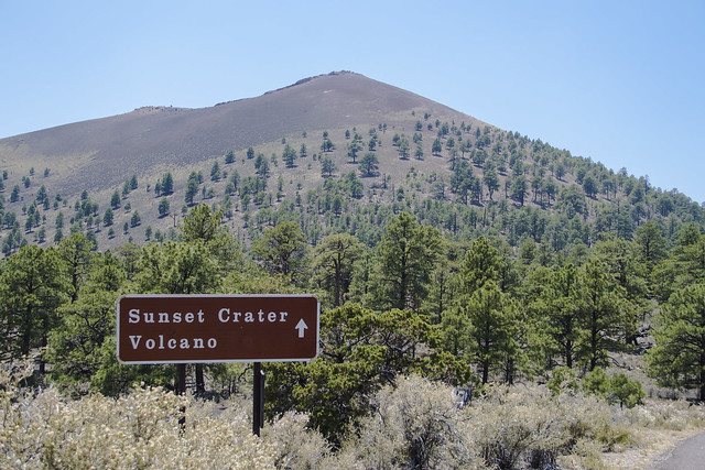 Sunset Crater Volcano Park, Arizona