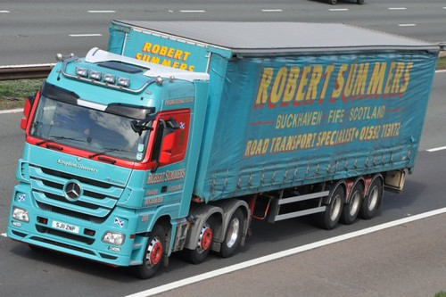 Robert Summer Mercedes Benz Actros SJ11 ZNP