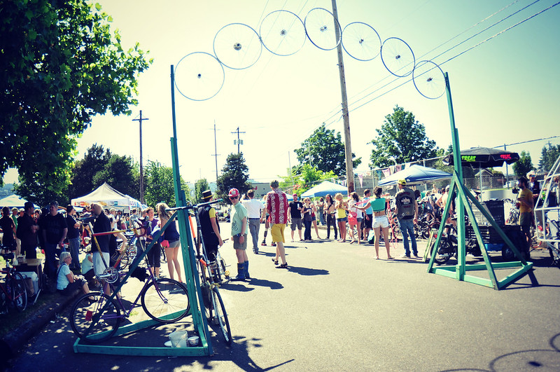 Multnomah County Bike Fair, Portland, Oregon