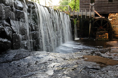 Yates Mill Waterfall