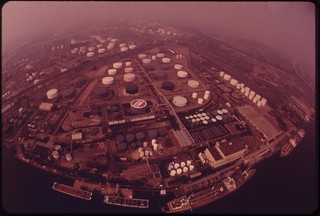 Gulf And Arco Installations, August 1973