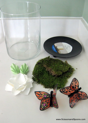 DIY Butterfly Jar - Supplies