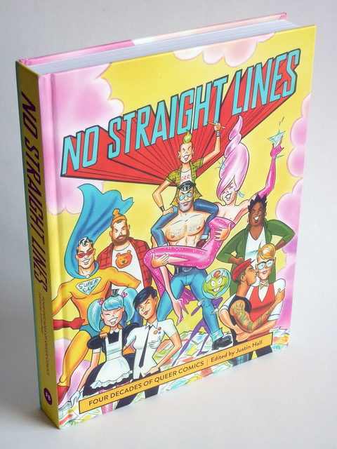 No Straight Lines: Four Decades of Queer Comics - front