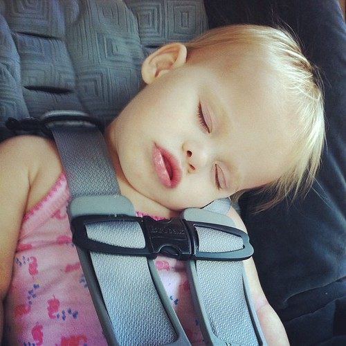 "Operation ""plan the road trip around Lucy's naptime"": SUCCESS."