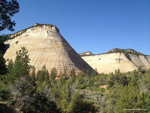 Utah Scenic Byway 12_Checkerboard mesa