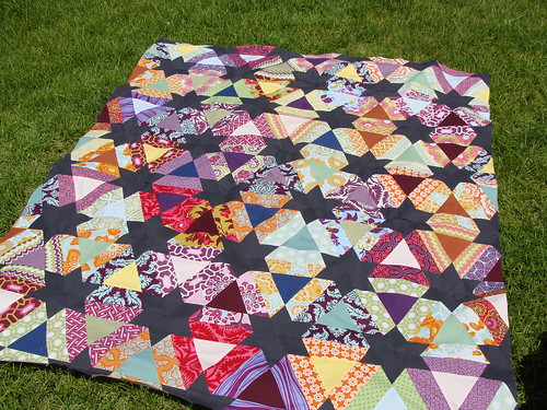 quilt top finished
