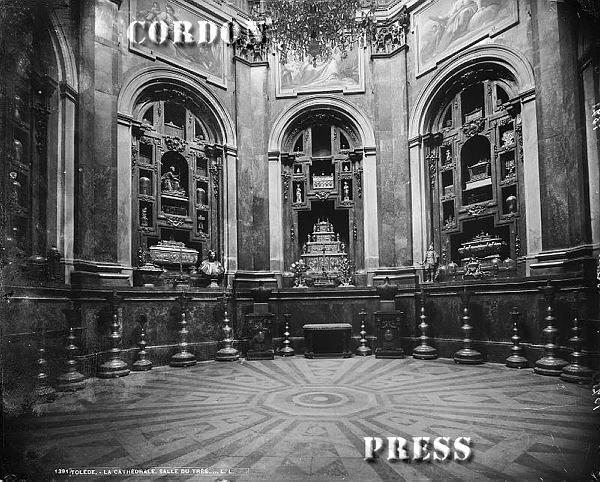 Ochavo de la Catedral de Toledo hacia 1875-80. © Léon et Lévy / Cordon Press - Roger-Viollet