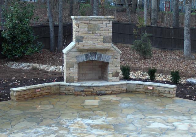 Atlanta hardscape fireplaces arnoldmasonryandlandscape for Hardscape concrete