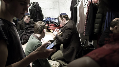 Meet the Hitlers, The Cast's Dressing Room in Intermission, NYC