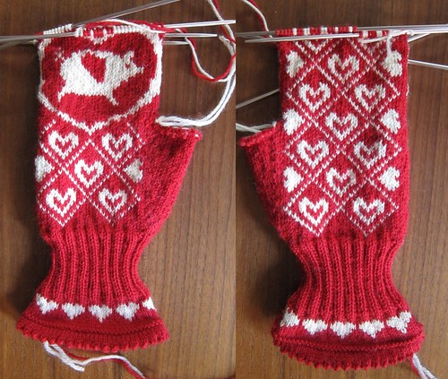 flying pig mittens