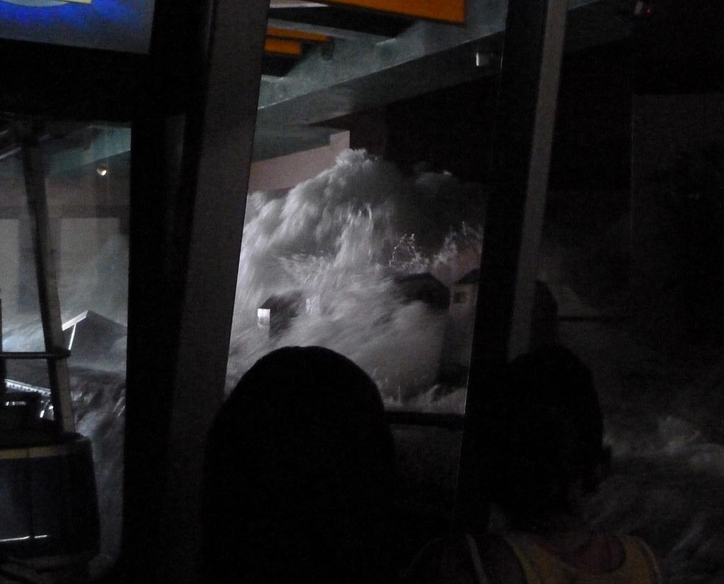 Universal studios tour  Катастрофа в метро