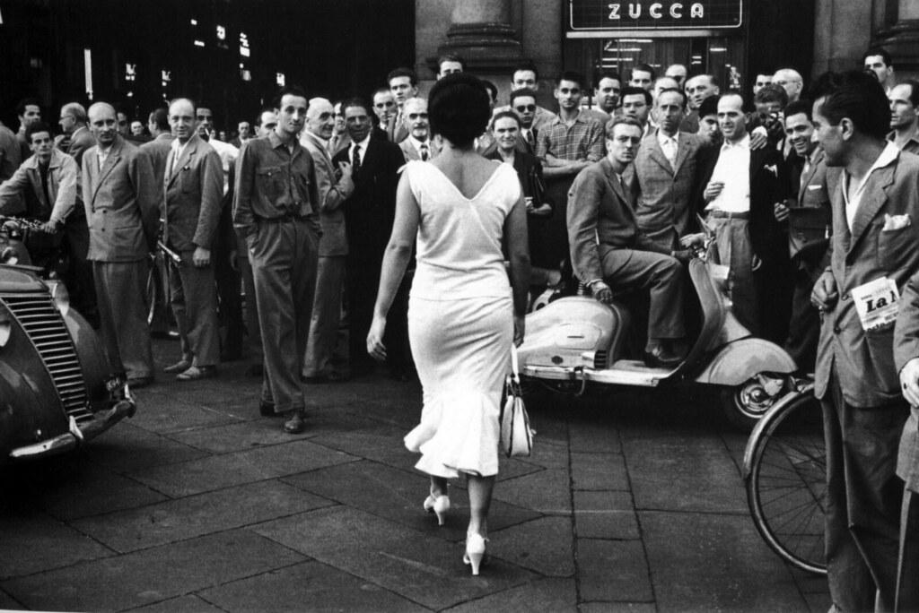 Итальянцы, 1954. Фотограф Марио Де Бьязи