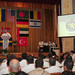 The commander of the U.S. 6th Fleet, delivers his remarks during the opening ceremony for exercise Sea Breeze 2012.
