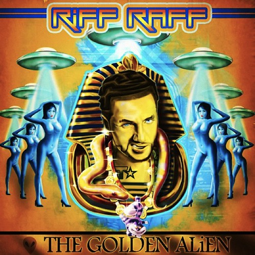 New Riff Raff Album 'Golden Alien' by VLNSNYC
