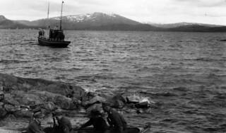 """Utfart til Torghatten med handelsreisebåten """"Skarv"""""""