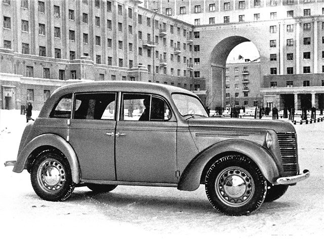 1941 KIM-10-52 4-door prototype