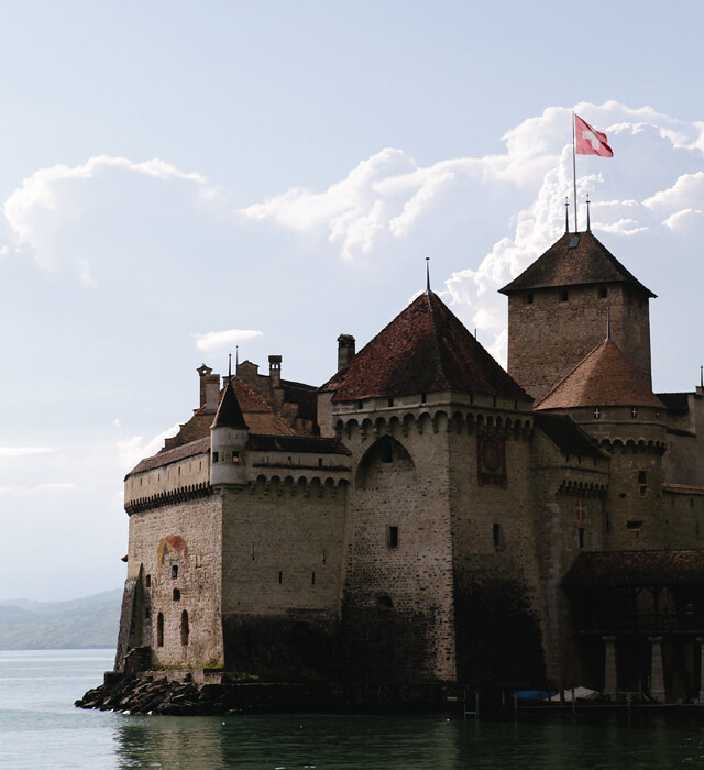 Chateau De Chillon by Amanda Jane Jones-02