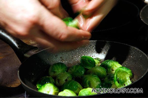 Even simple veggies look so beautiful