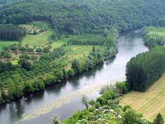 The Dordogne from Les Jardins Suspendus de Marqueyssac