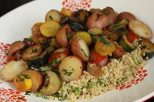 Provencal Summer Squash with Quinoa