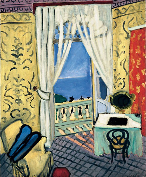 Matisse fen tre ouverte nice 1918 1919 flickr for Matisse fenetre