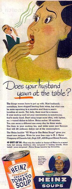 Does Your Husband Yawn at the Table?