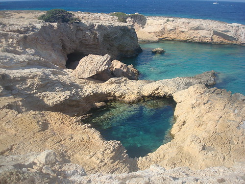 A Natural Swimming Pool @ Pano Koufonisi by greeknewsagenda