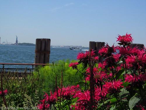 Flowers near Castle Clinton National Monument, New York City