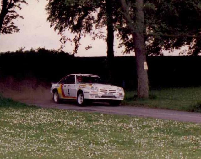 Bertie Fisher Rallycars
