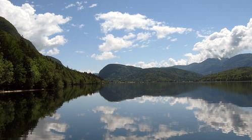 BOhiņas ezers tālais gals