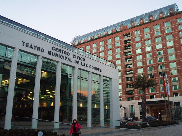 Santiago Centro Civico Teatro Municipal Las Condes