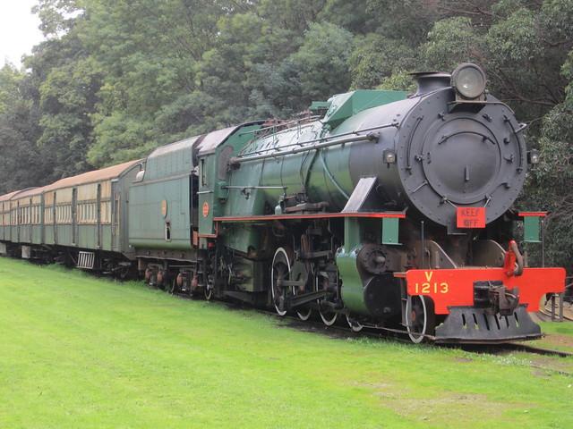 Steam train, Pemberton