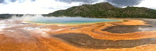 Grand Prismatic Spring [PANO]
