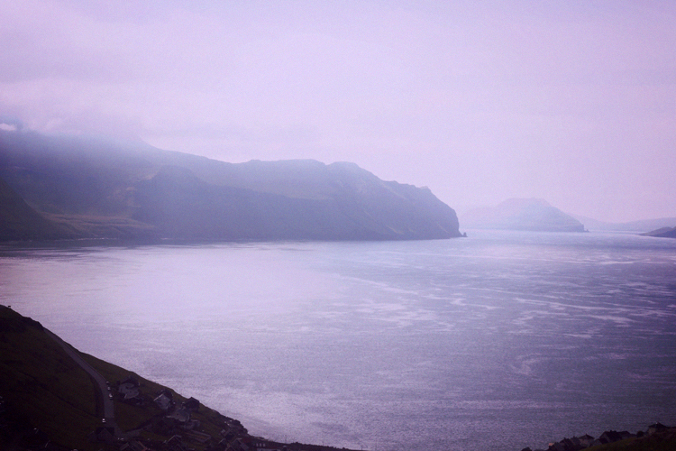 driving through faroes