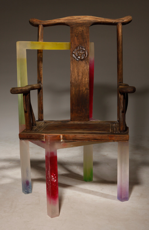 Sotheby's London_Gui Ying - Wood and Resin Chair.jpg