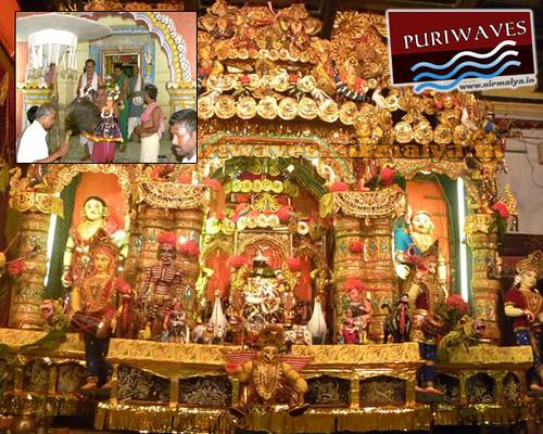 Jhulan Jatra At Jagannath Ballav Math, Puri