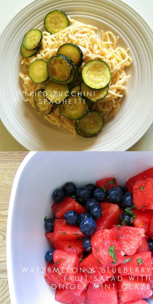 zucchinispaghettiwatermelonsalad