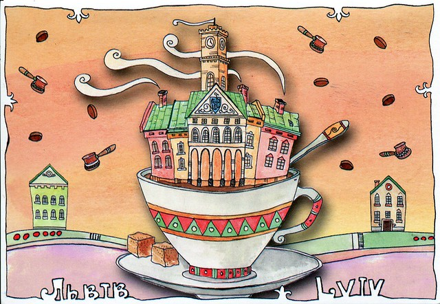 Ням-нямки :))) Lviv - city of coffe
