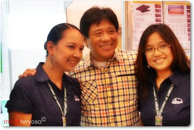 Photo opp with DA Sec Alcala