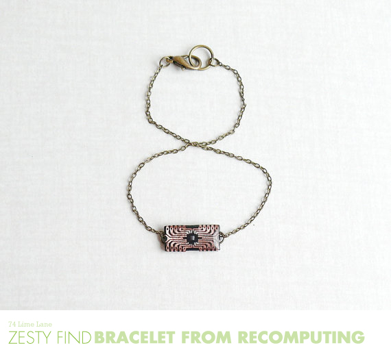 {zesty find} bracelet from recomputing