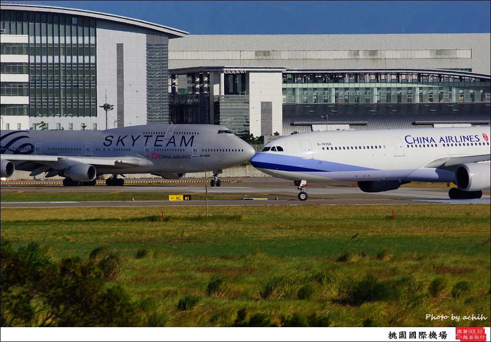 China Airlines / B-18306 / Taiwan Taoyuan International Airport