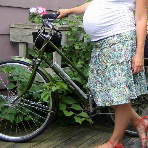 Cycling while pregnant