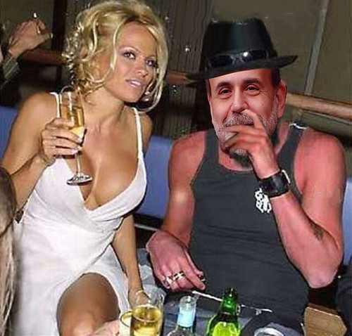 BEN AND PAMELA CHILLIN AFTER FOMC by Colonel Flick