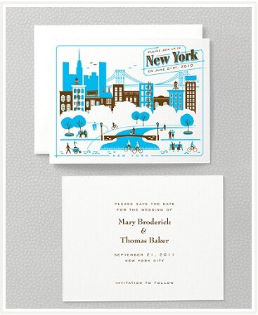NYC Wedding Cards At Hello Lucky