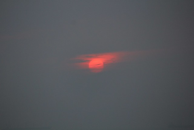 Hazy Sunrise At Tanjung Tokong