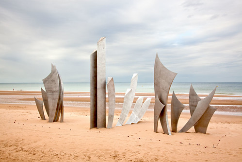 """The Brave"". A tribute to the American Soldiers who landed on Omaha Beach on June 6th 1944."